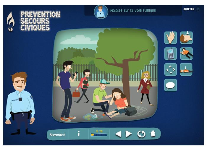 gendarmerie-premiers secours